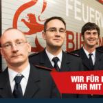 Führungsspitze der Feuerwehrabteilung Gräfenhauesen