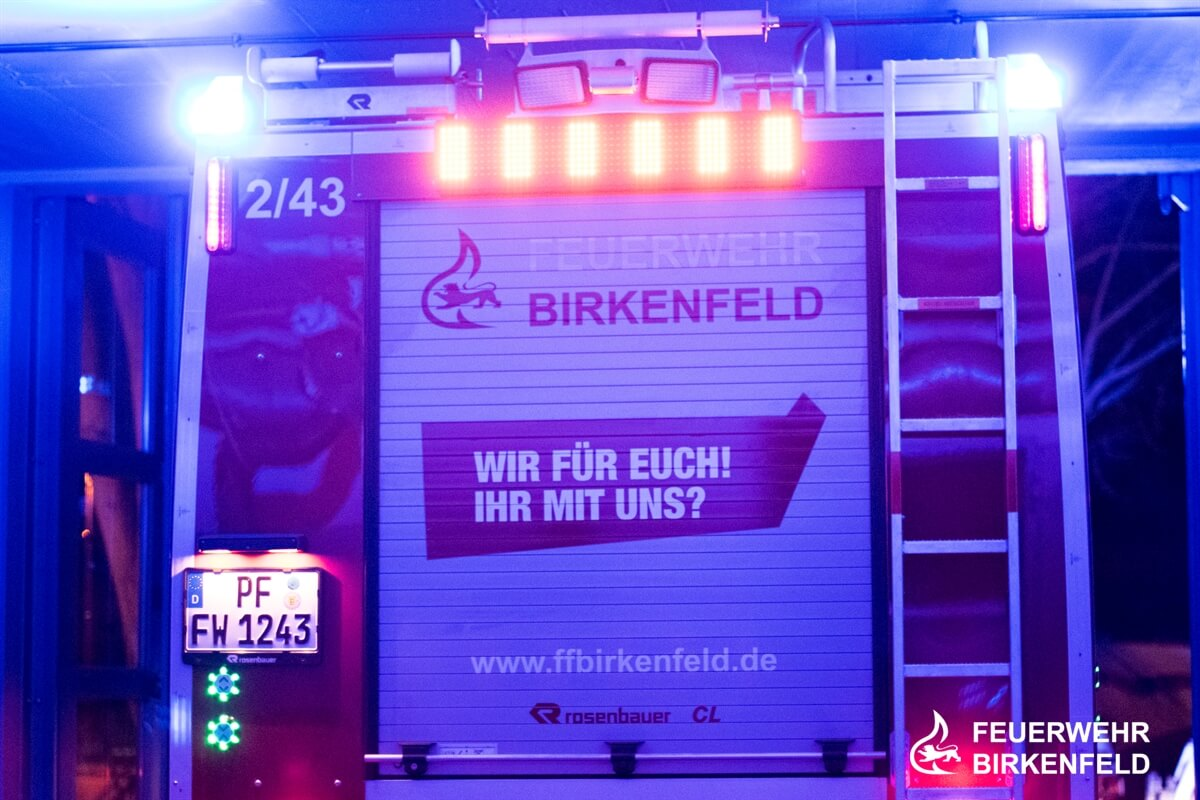 Heckansicht HLF 10 Abteilung Gräfenhausen
