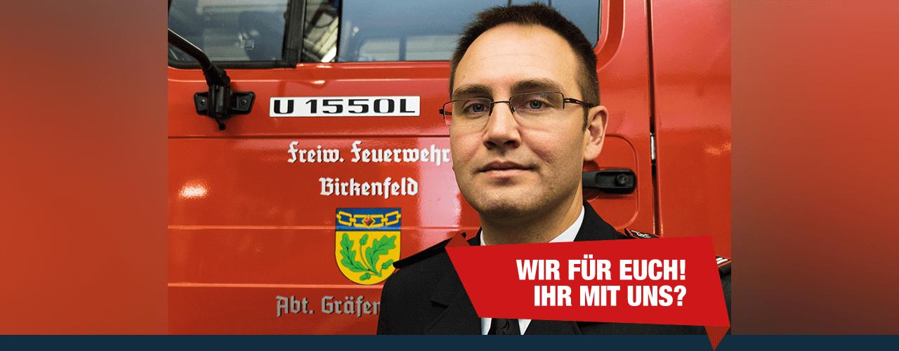 Abteilungskommandant Jakob Bauser