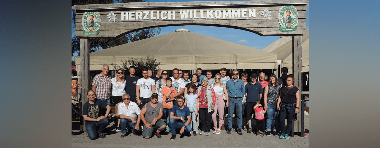 Gruppenbild Ausflugsteilnehmer