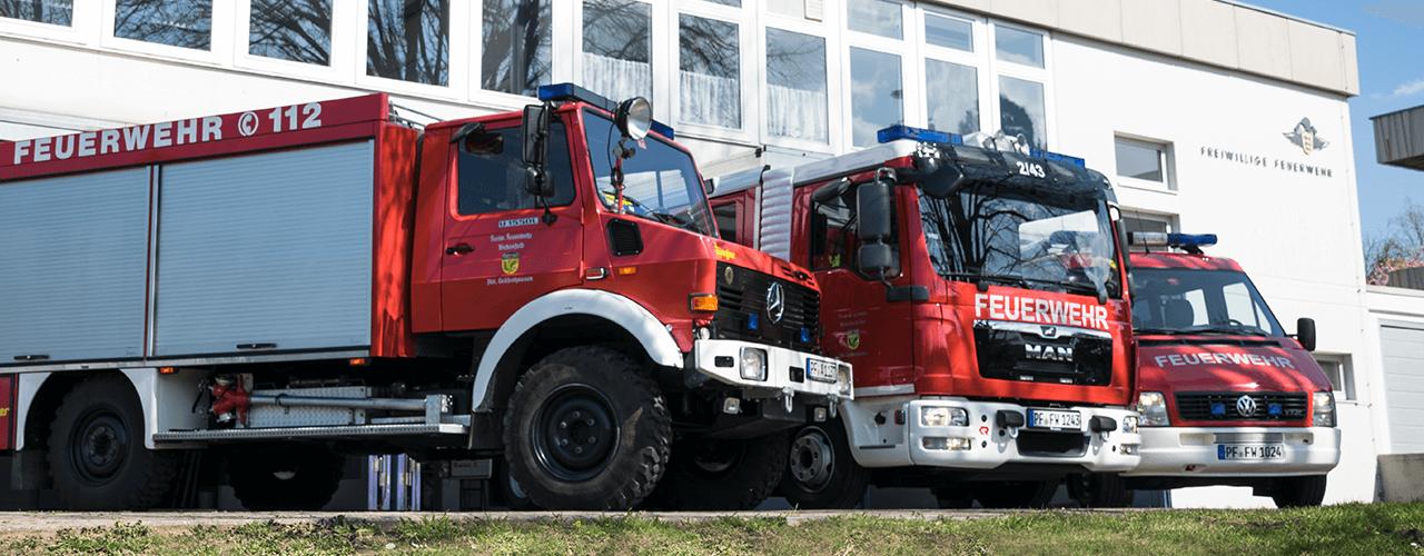 Fahrzeuge Abteilung Gräfenhausen